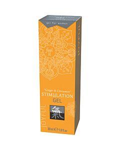 Shiatsu Stimulationsgel - Ingwer & Zimt 30ml