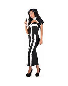 Schelmen - mailen schwarze Nonne Kostüm