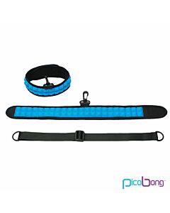 PicoBong sprechen Sie kein Übel blau Halsband