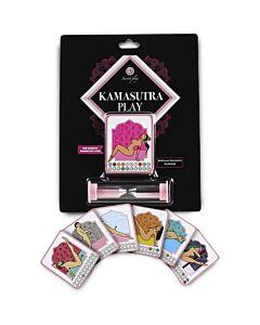 Geheimes Spiel für Paare Kamasutra spielen