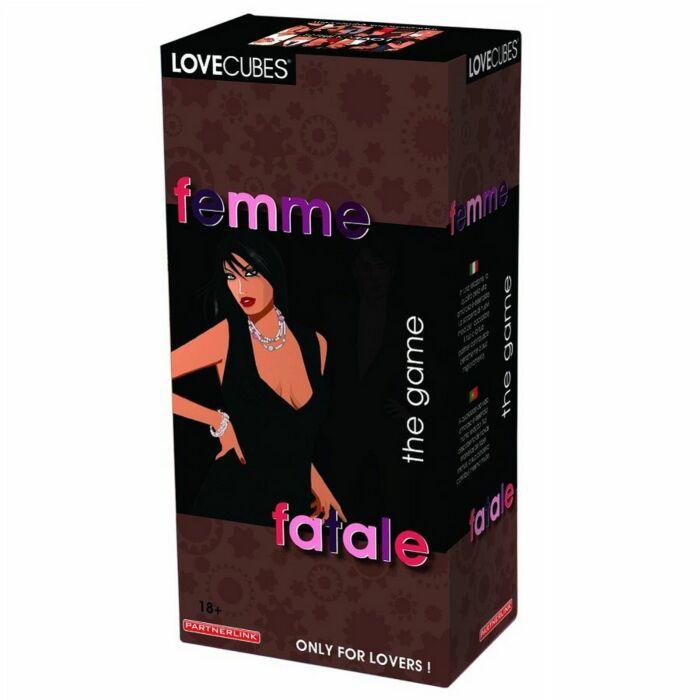 Femme fatale Liebe Spiel Würfel