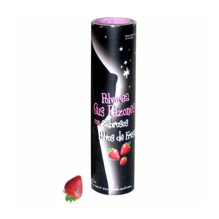 essbar Erdbeerpulver 75g Brustwarzen