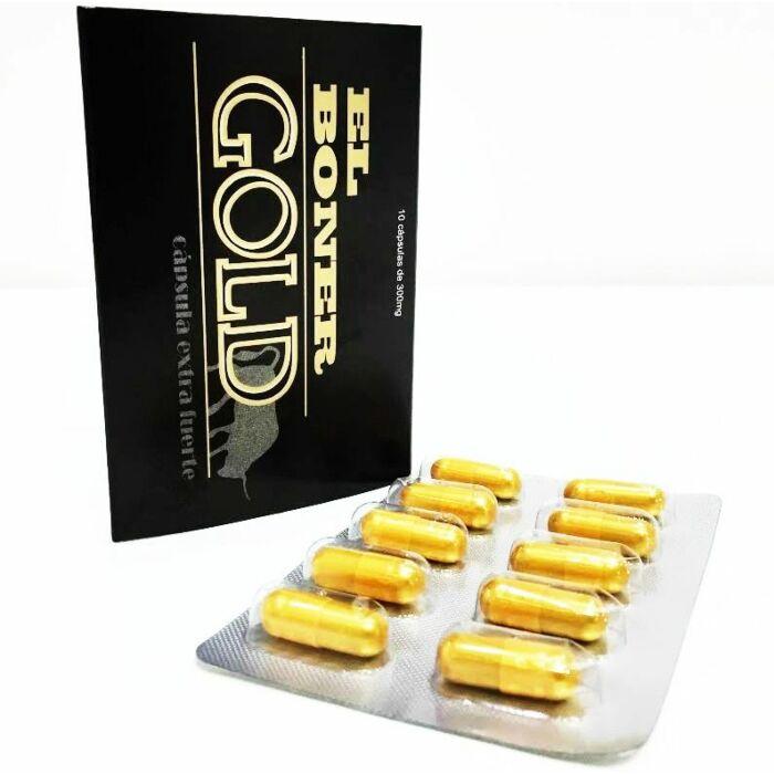 Goldene Gold 10 extra starke 300mg Kapseln