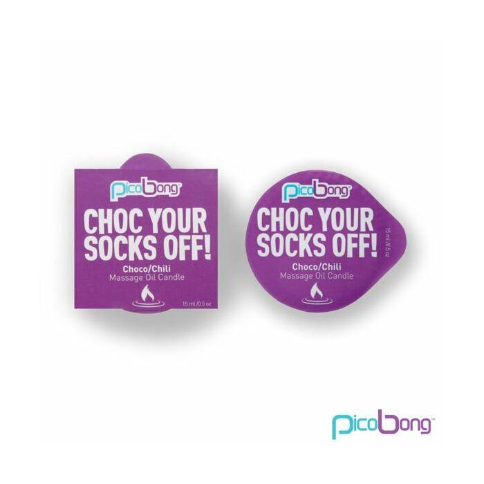 Choc Ihre Socken weg Massageöl Kerze